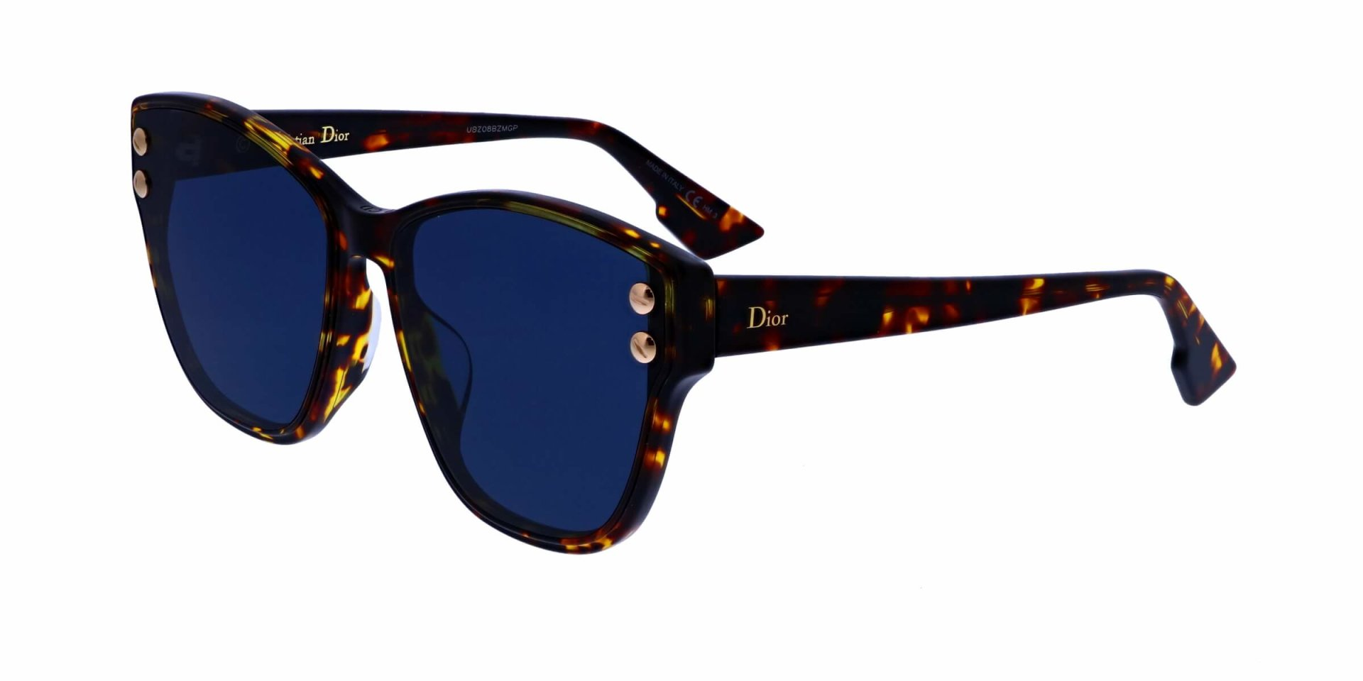 499c1083d4fb Details about NEW Christian Dior ADDICT3F P65A9 Havana Blue Sunglasses