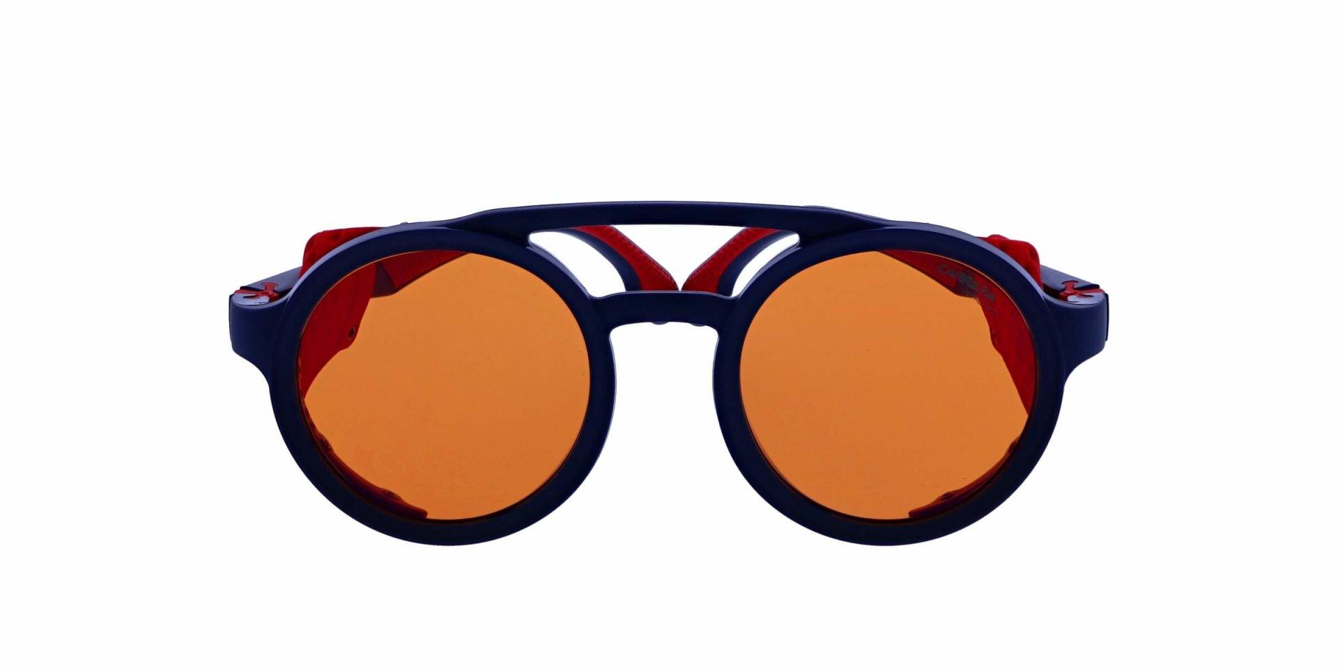 Carrera Eyewear Sonnenbrille » CARRERA 5046/S«, blau, FLL/DP - blau/orange